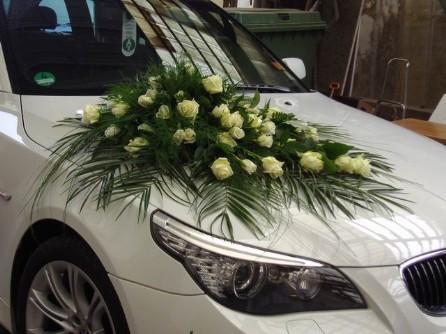 Autos Und Kutschen Blumenkranz Blumengesteck